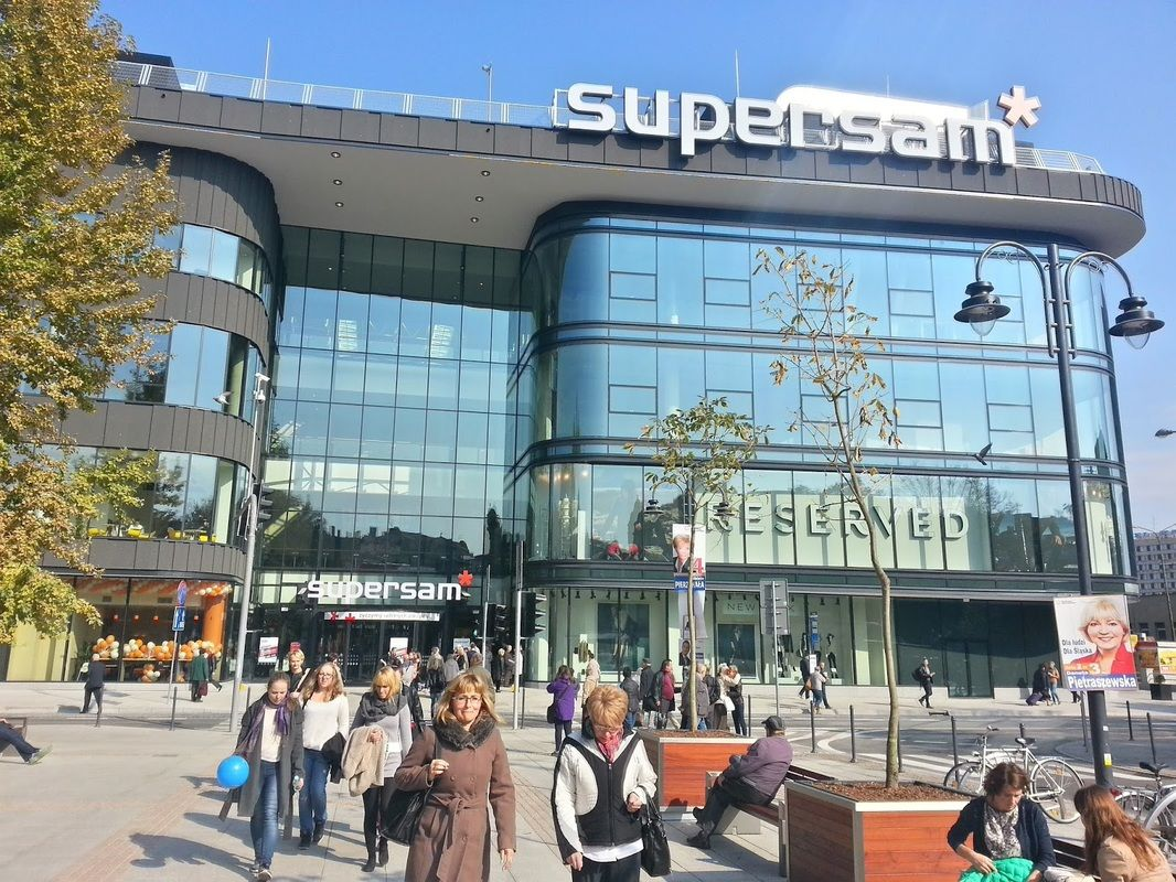C.H. SUPERSAM - KATOWICE Sklepy Atab, Reserved, House, Cropp, Mohito, Sinsay, H&Y
